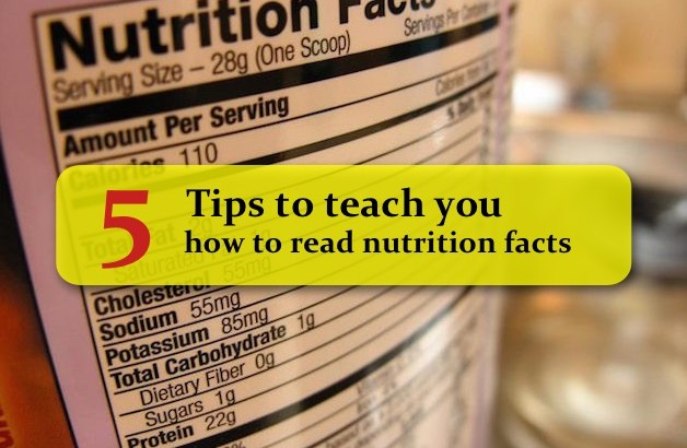 5 Tips to teach you how to read nutrition fact on packaging