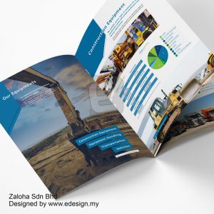 Creative Company Profile Design - ASG Transportation