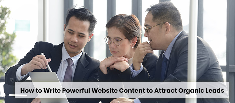How to Write Powerful Website Content to Attract Organic Leads-3