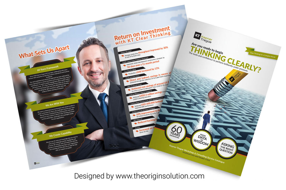 Creative brochure design leaflet design commercial for Brochure design for training institute