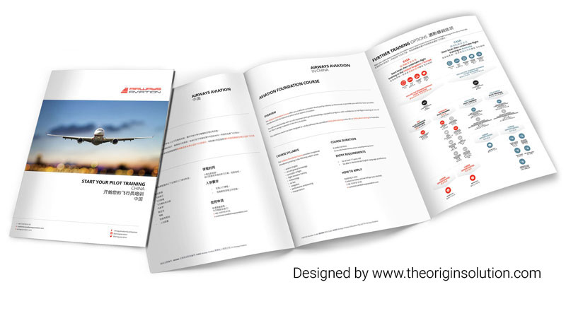 Aviation Corporate Profile Design