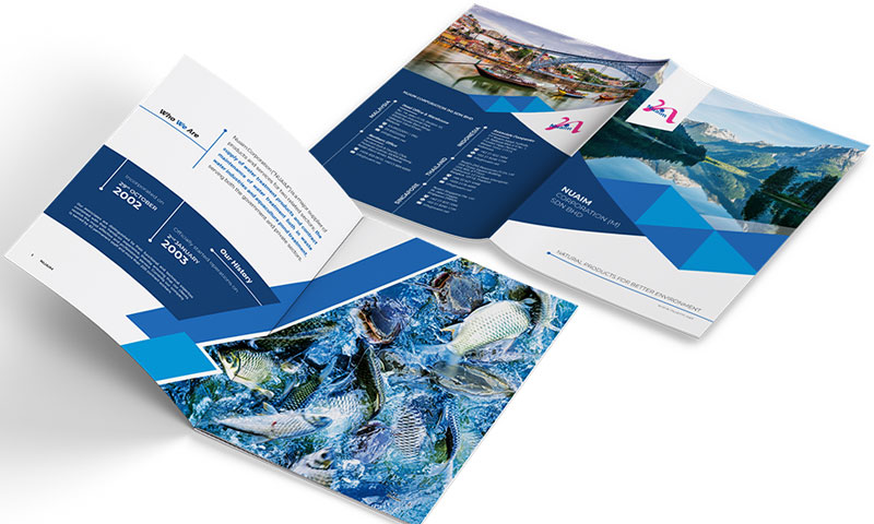 Water Treatment Company Profile Design