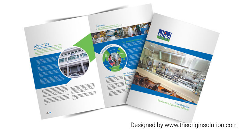 Kitchen Specialist Company Profile Design