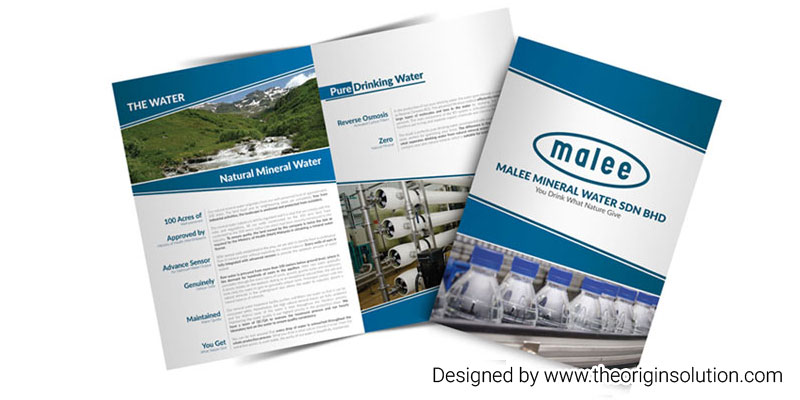 Mineral Water Corporate Profile Design